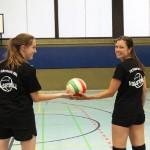 Bild vom Volleyball-Training beim Sportverein TV Friesen in Schöneberg